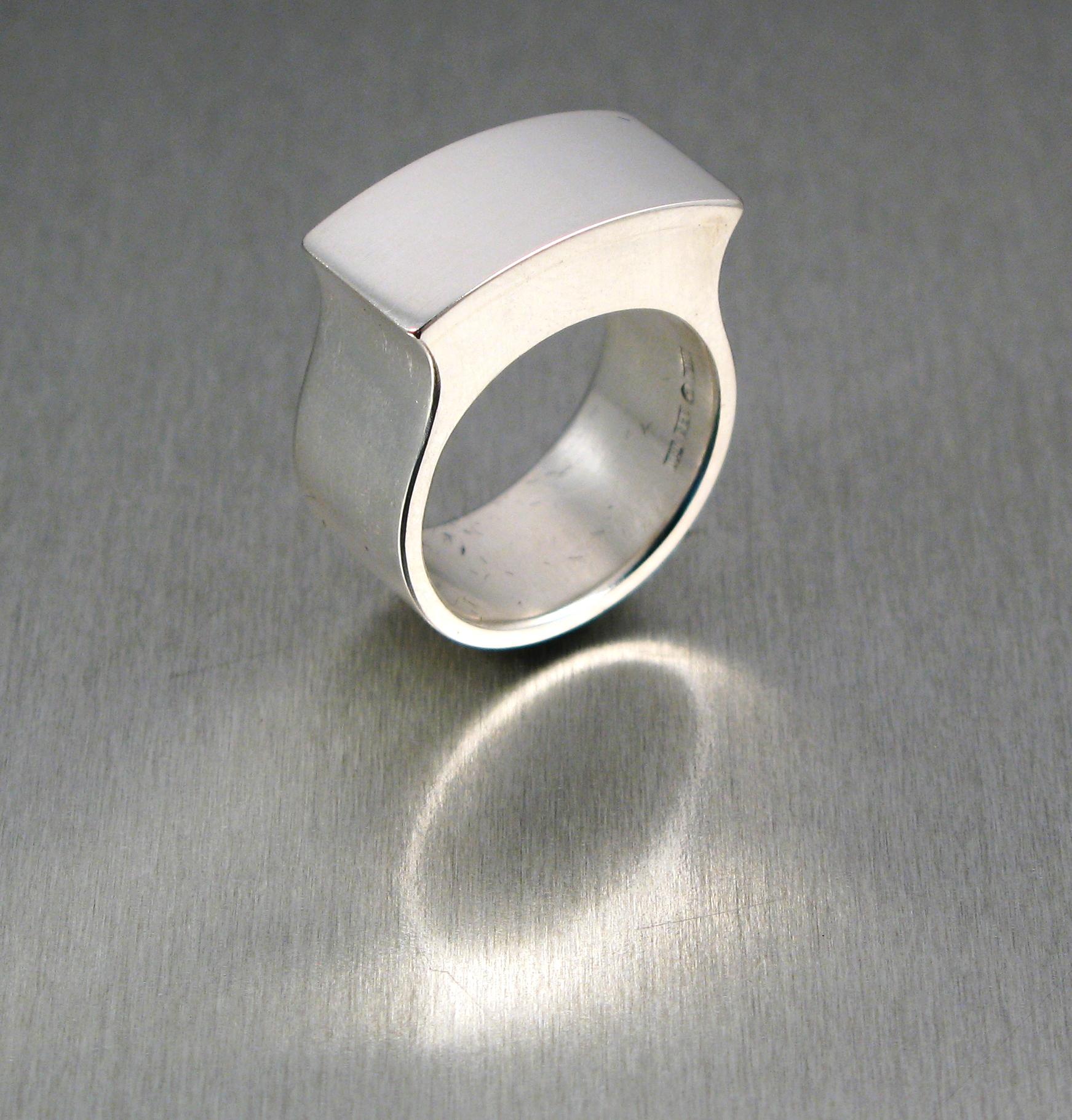 """Ring """"Fru Drake"""", silver."""